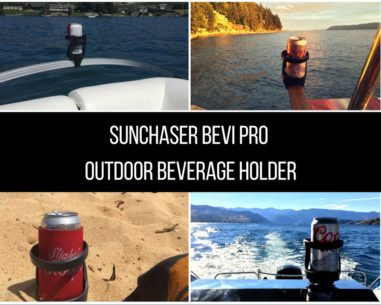 SunChaser Bevi Pro Outdoor Beverage Holder on Amazon