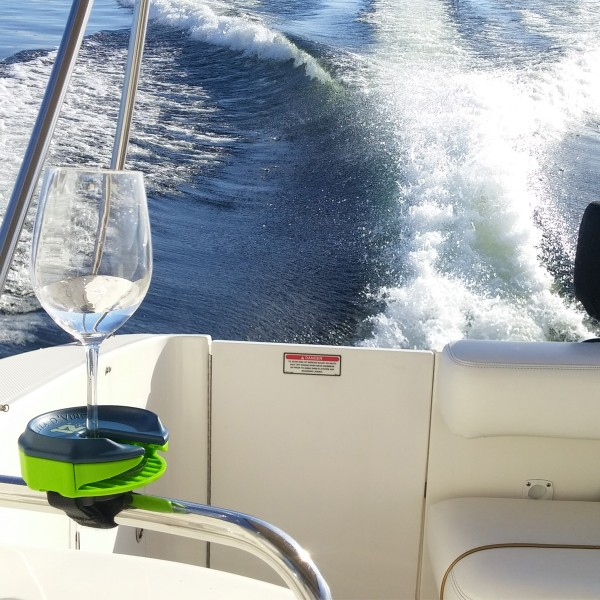 Wine glass holder for boating boats 1200x1200
