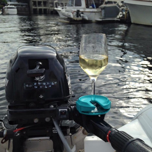 Wine glass holder on boat 1200x1200