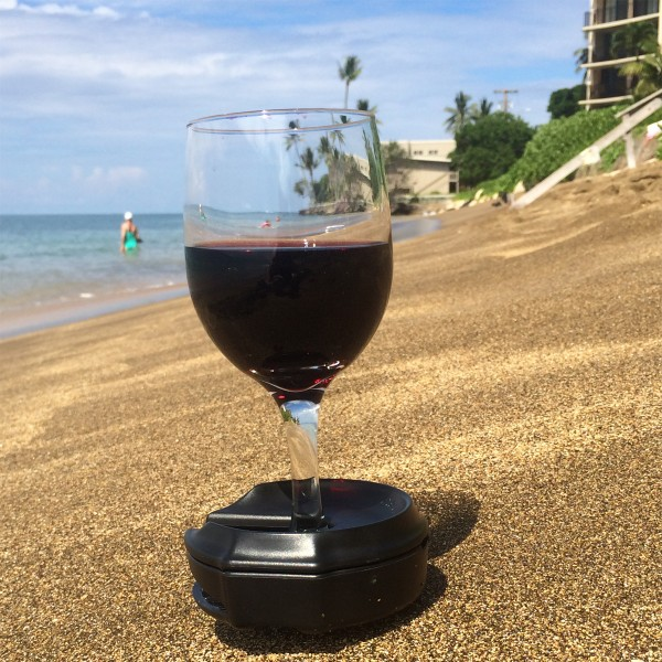Wine on the beach maui sand 1200x1200